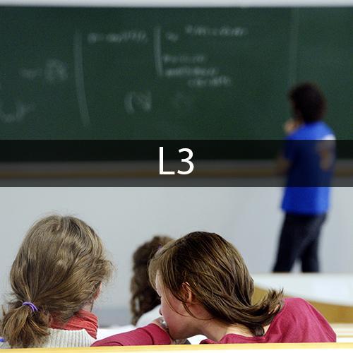 L3 Mathématiques