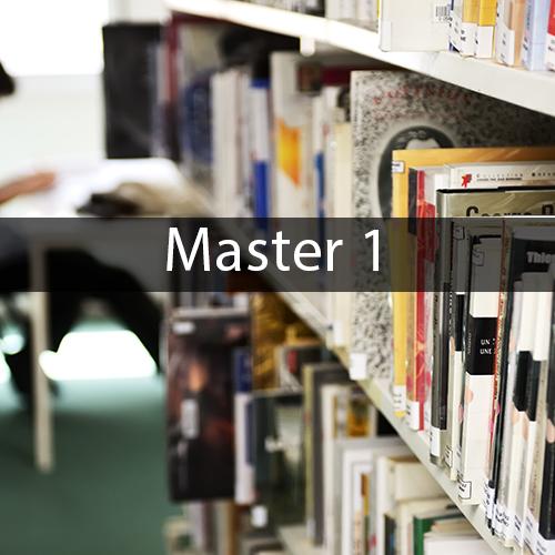 Master 1 Mathématiques