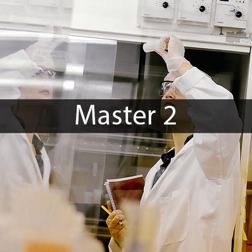 Master 2 Mathématiques